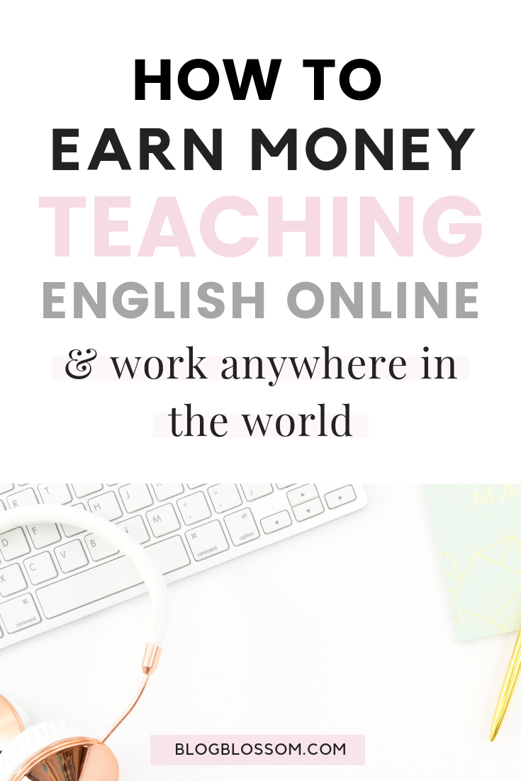 Looking for a flexible side hustle to bring in extra income each month? Set your own hours and earn up to $22 per hour by teaching English online at home to kids in China. | work-at-home job | work with kids | make money online | make extra money | english teacher | teach online | teach English online | remote jobs #teaching #teacher #workfromhome #workfromhomejobs #sidehustle #makemoneyonline