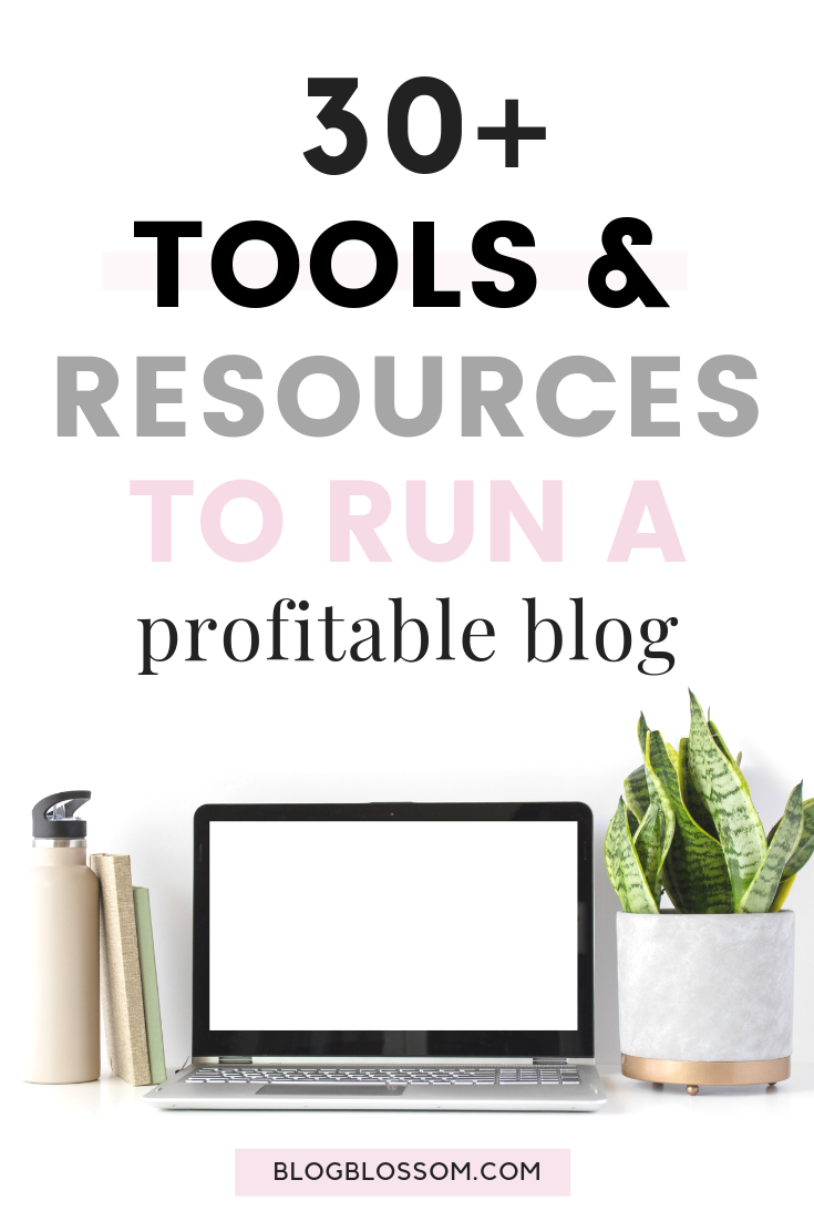 Looking to create a profitable blog? Here is the ultimate list of resources and tools you need to monetize your blog and explode your blog traffic. | affiliate marketing | make money from home | make money online | how to make money online | side hustles | work from home | blogging resources | blogging tools | entrepreneur #bloggingtips #startablog #blogging #makemoneyonline #sidehustle #passiveincome #affiliatemarketing