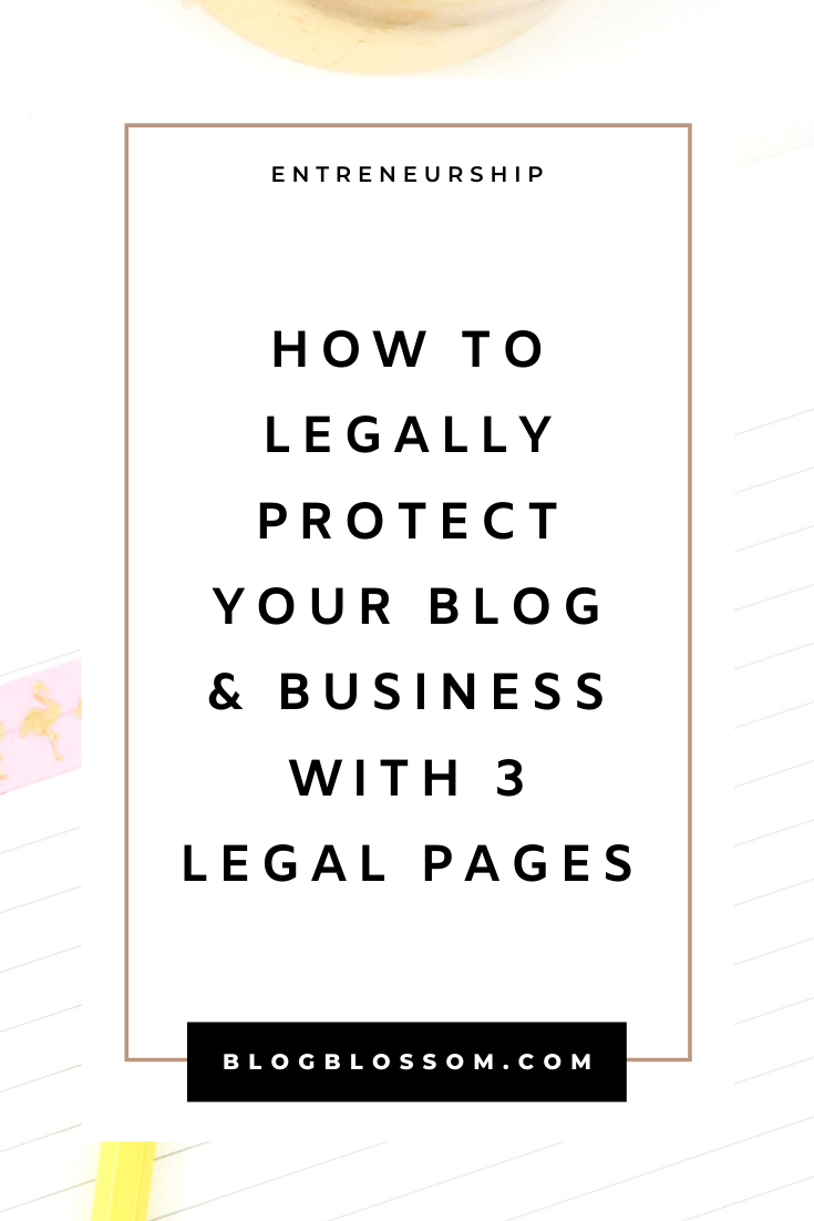 How To Legally Protect Your Blog And Business With Legal Contracts