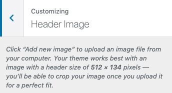 wordpress header image