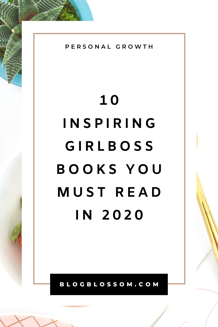 As a female entrepreneur, reading books that are written by strong and successful females is a great way to learn.If you're looking for guidance, inspiration, and motivation, these 10 books for female entrepreneurs and girlbosses will change your life. | girlboss books | motivational books | growth mindset | career tips | success tips | inspirational books | mental health | business tips | personal development | self transformational books | books to transform your life | self-care | goal setting | productivity | healthy habits | healthy lifestyle