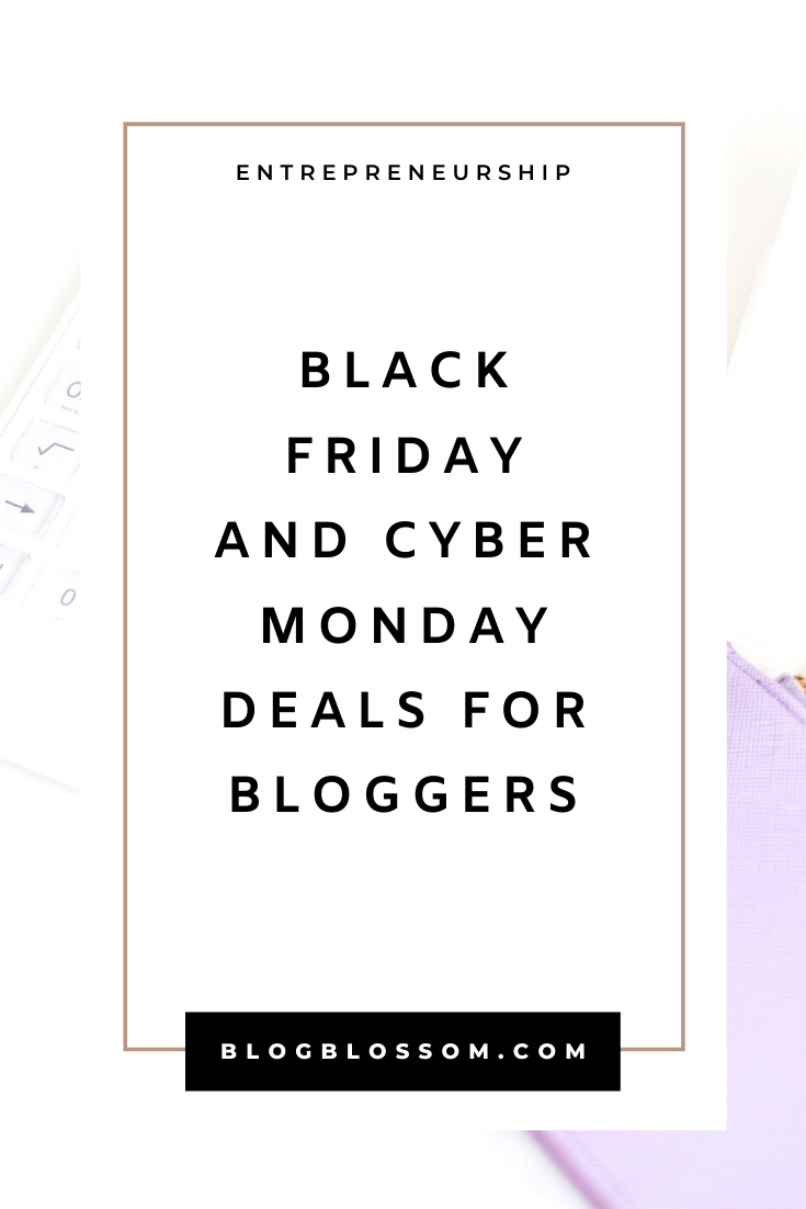 Are you looking for the best blogging deals for Black Friday? Here are the best deals and sales for resources and tools you need to monetize your blog or online business. | affiliate marketing | make money from home | make money online | business tips | work from home | blogging resources | blogging tools #bloggingtips #startablog #blogging #makemoneyonline #sidehustle #passiveincome #affiliatemarketing #blackfriday #blackfridaydeals #entrepreneur #cybermonday #cybermondaydeals