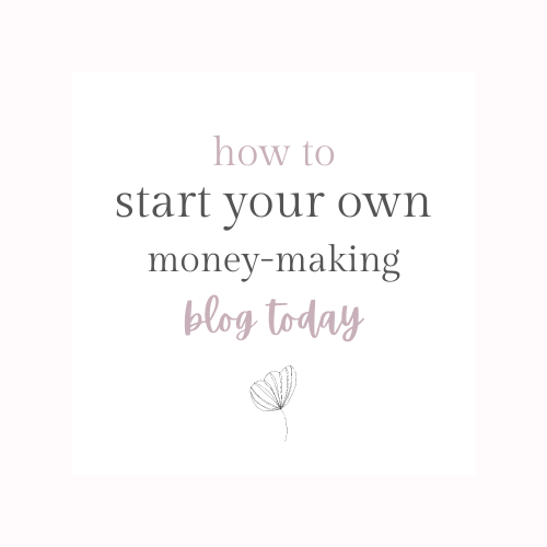 how to start your own money-making blog - a step by step tutorial