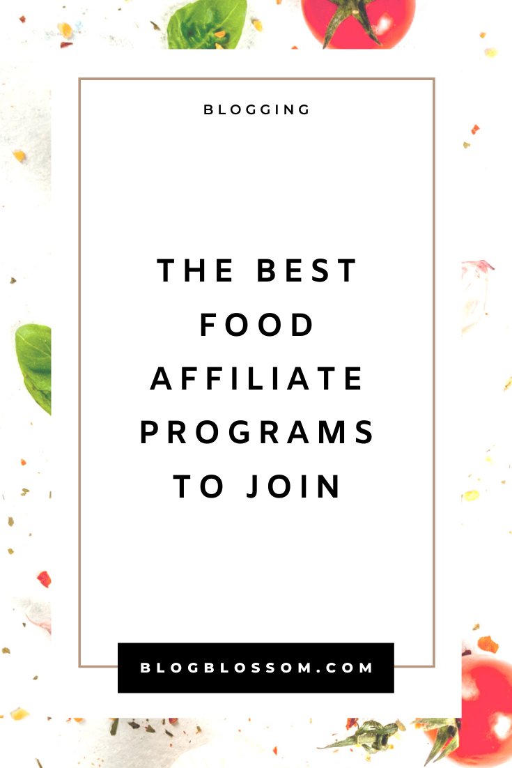 25 Best Food Affiliate Programs To Join