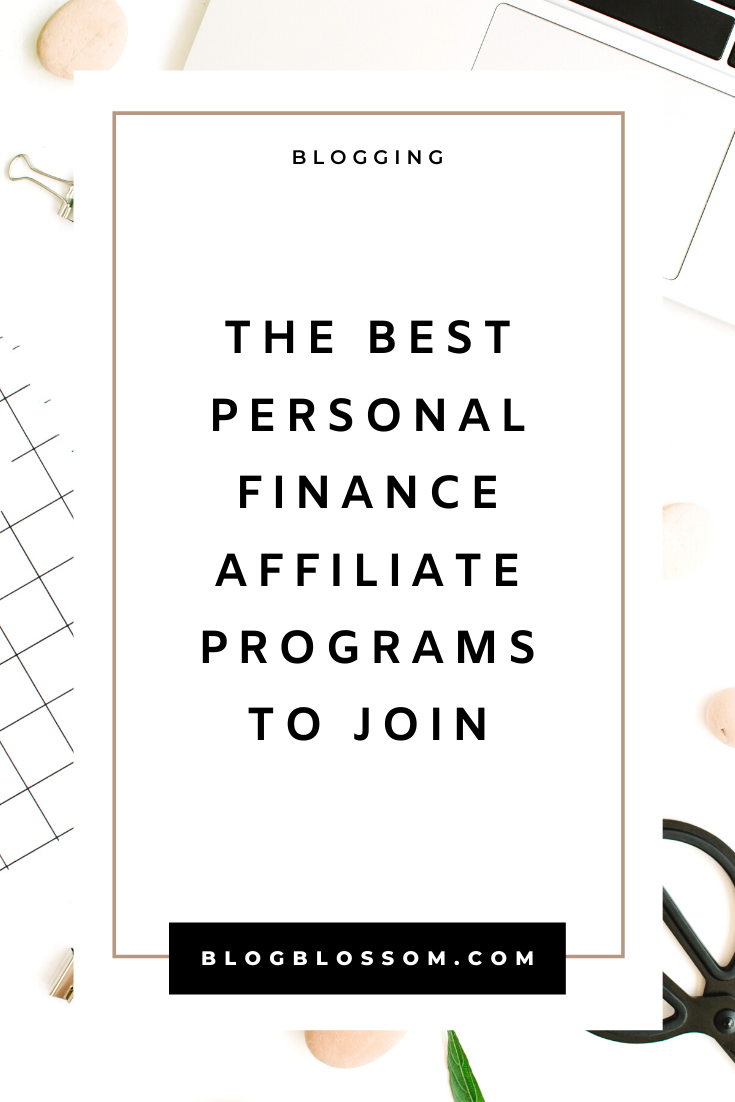 affiliate programs for finance bloggers