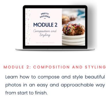 pretty focused course - module 2